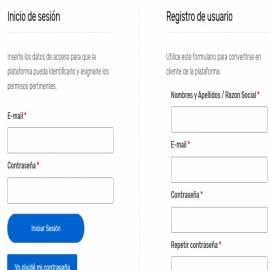 Instructivo registro en plataforma